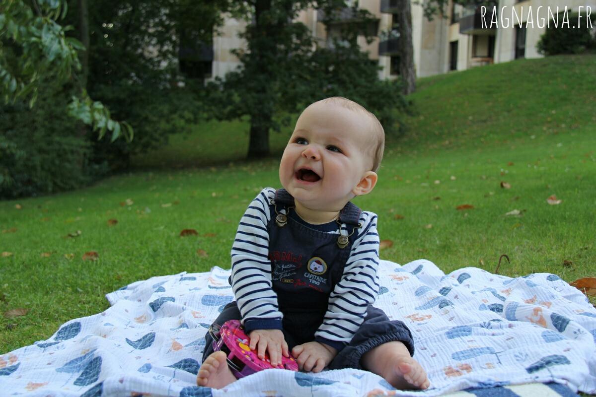 Lucie 8 mois
