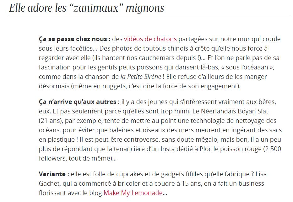 Figaro Madame vs Zanimaux trop mignons