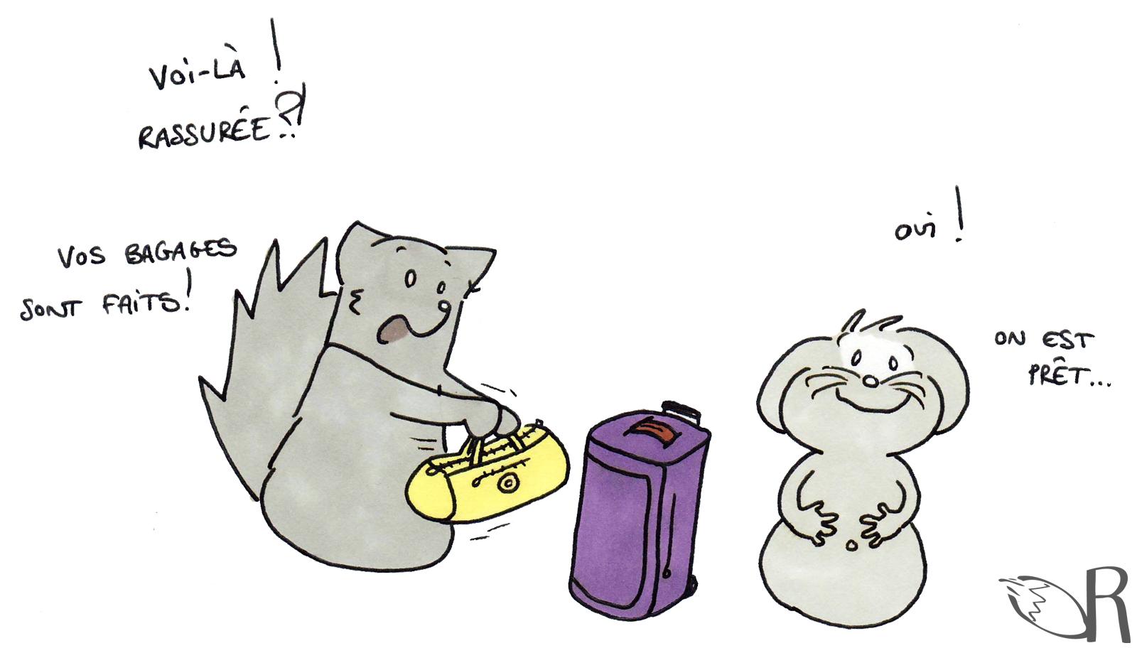 Préparer la valise de maternité