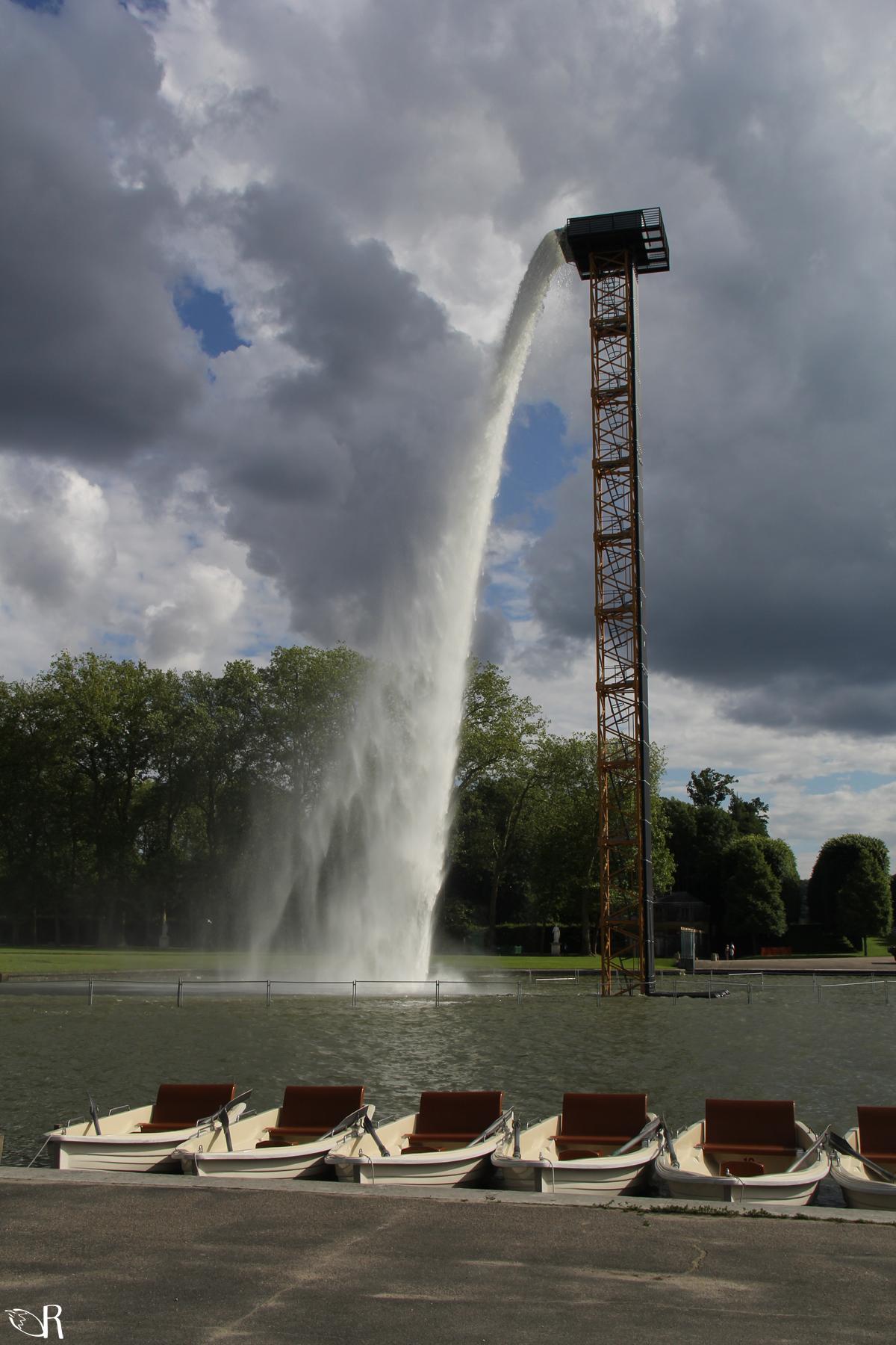 Waterfall de Olafur Eliasson, Versailles