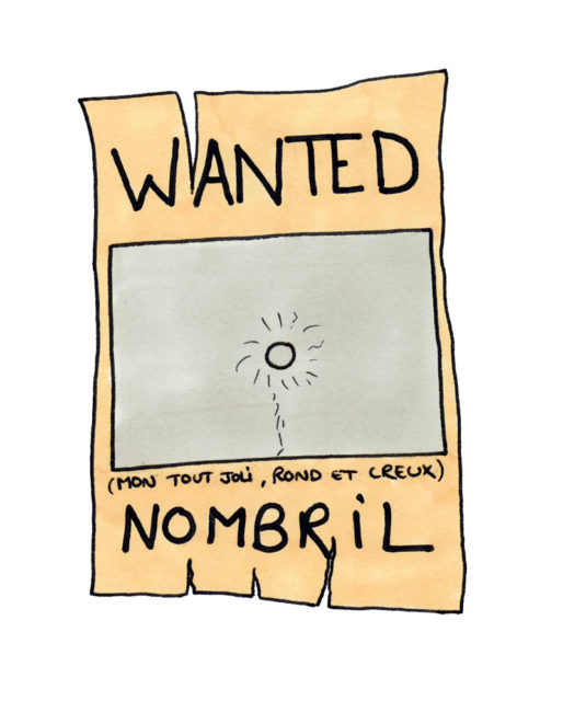 Wanted, nombril
